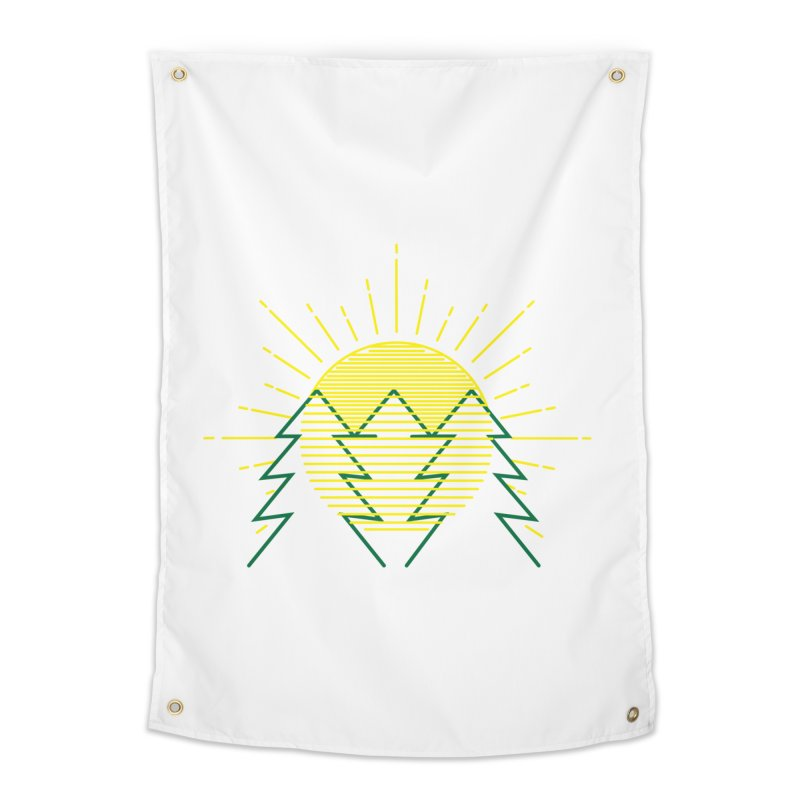 Sunny Day Home Tapestry by delcored