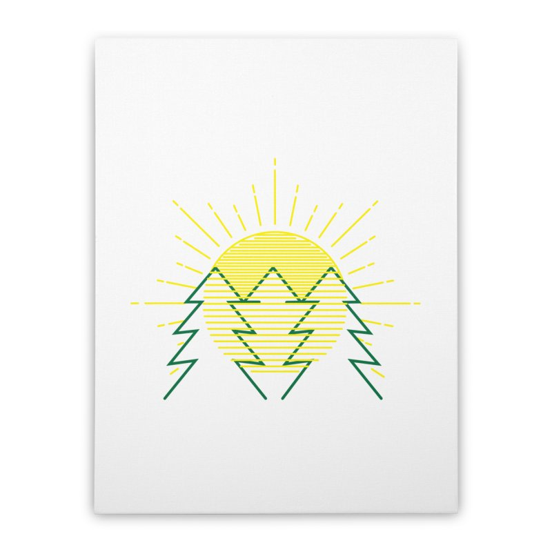 Sunny Day Home Stretched Canvas by delcored