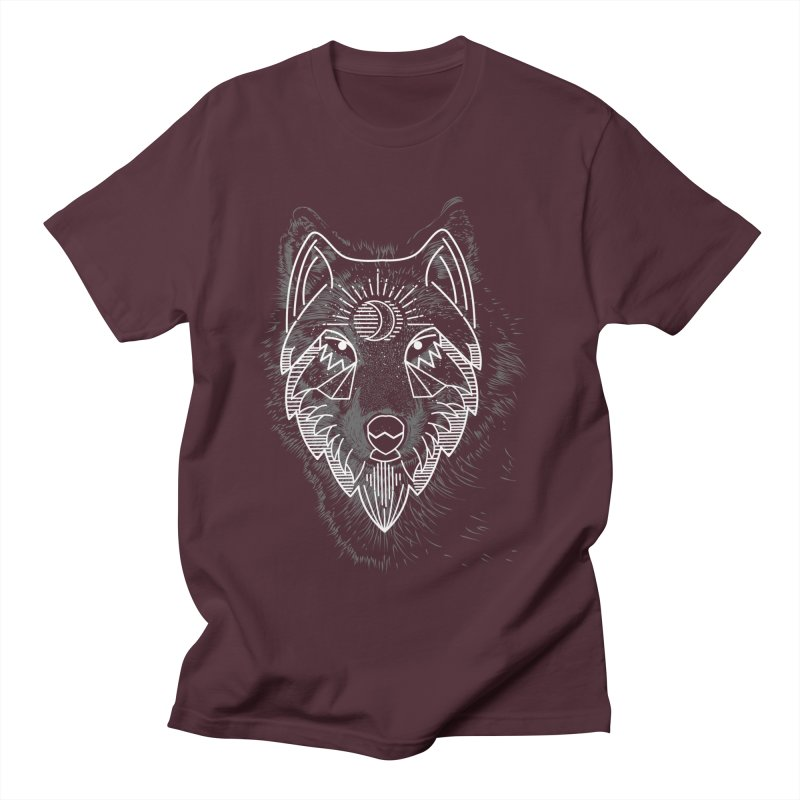 Wolfie Men's T-Shirt by delcored