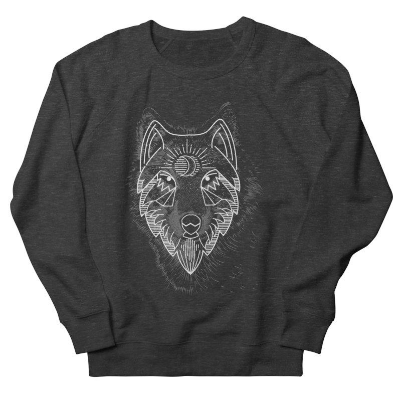 Wolfie Men's Sweatshirt by delcored