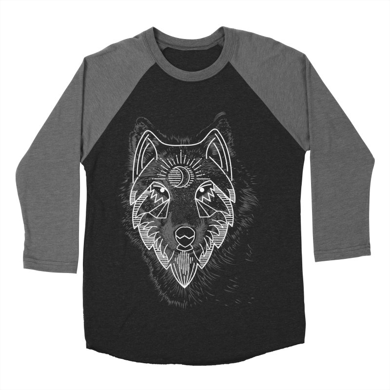 Wolfie Men's Baseball Triblend T-Shirt by delcored