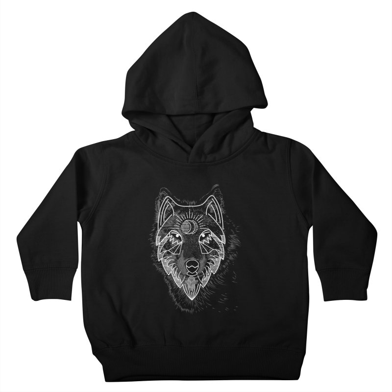 Wolfie Kids Toddler Pullover Hoody by delcored