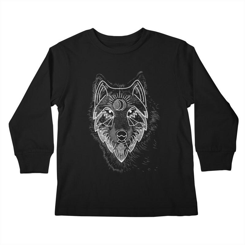 Wolfie Kids Longsleeve T-Shirt by delcored