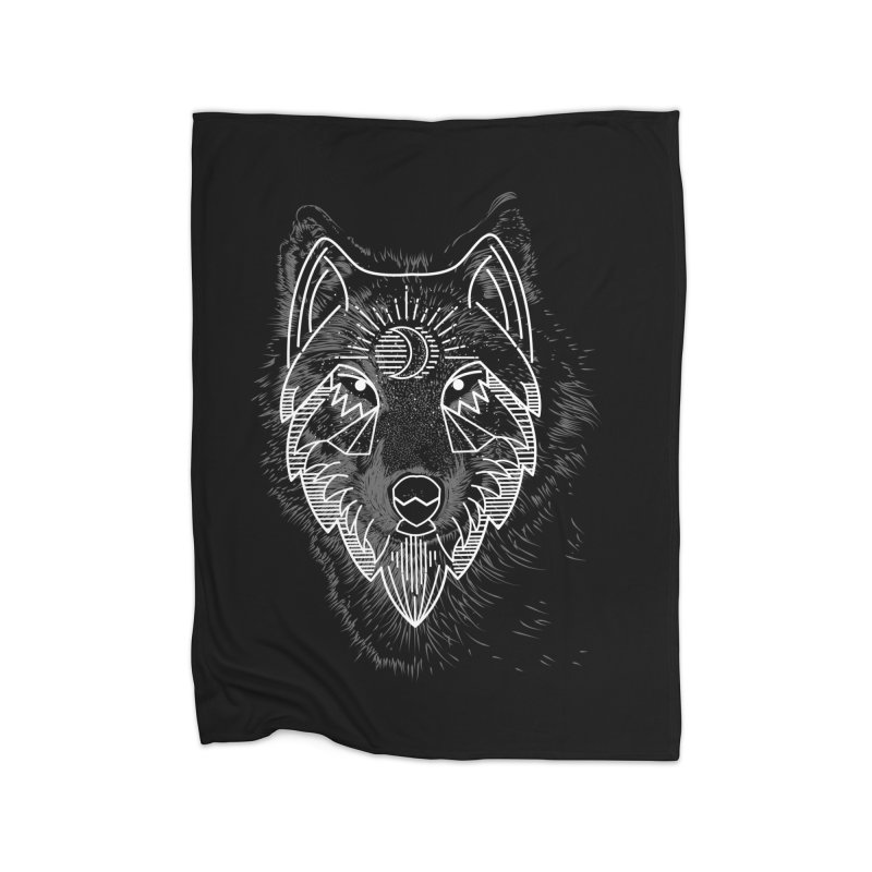 Wolfie Home Blanket by delcored
