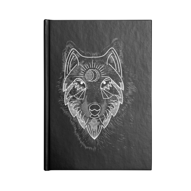 Wolfie Accessories Notebook by delcored