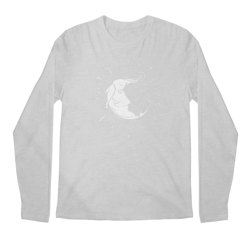 switchs the moon Men's Longsleeve T-Shirt by delcored