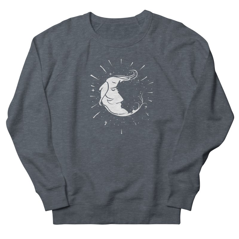 switchs the moon Women's Sweatshirt by delcored
