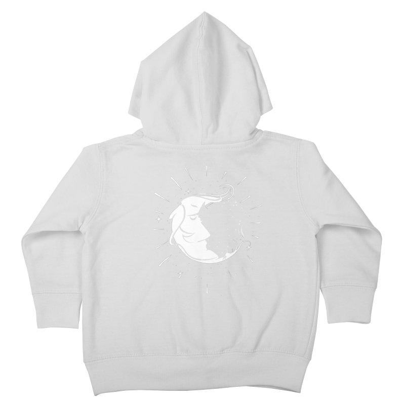 switchs the moon Kids Toddler Zip-Up Hoody by delcored