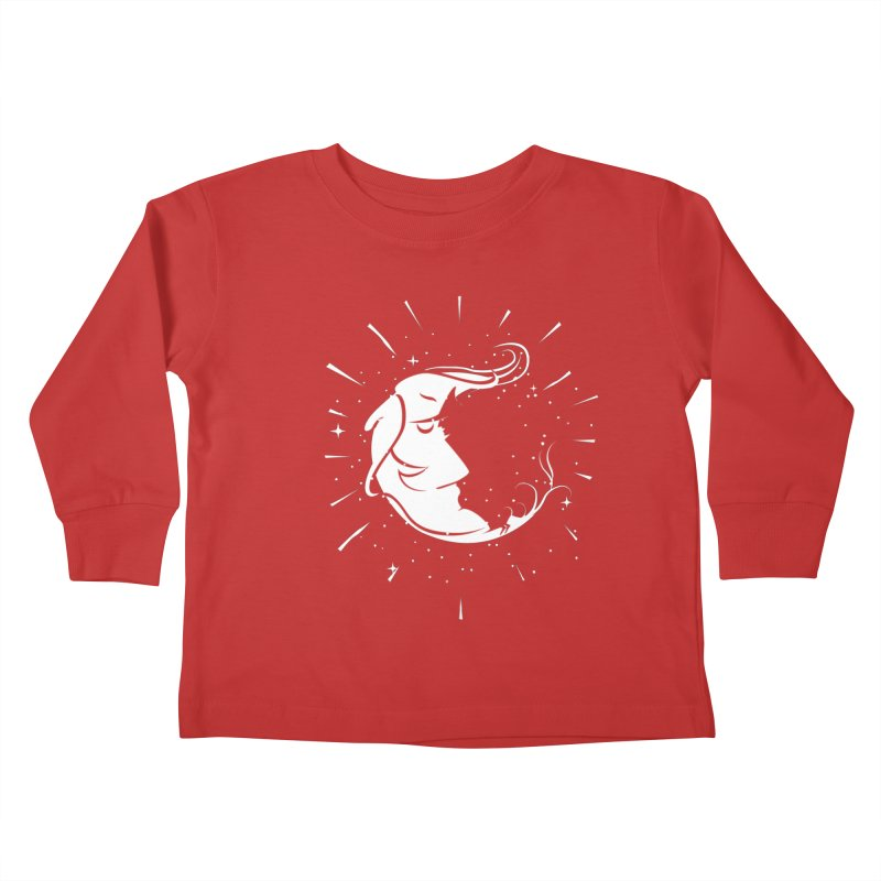 switchs the moon Kids Toddler Longsleeve T-Shirt by delcored