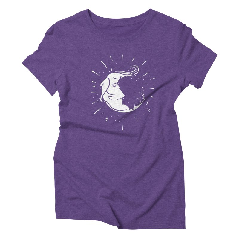 switchs the moon Women's Triblend T-Shirt by delcored