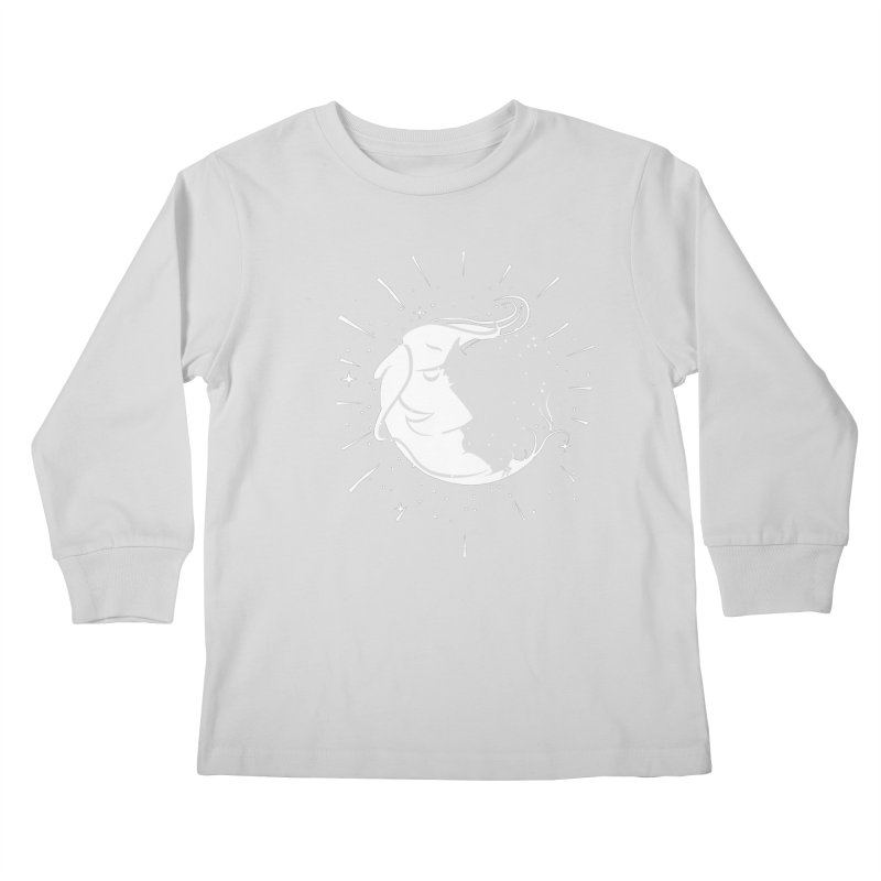 switchs the moon Kids Longsleeve T-Shirt by delcored