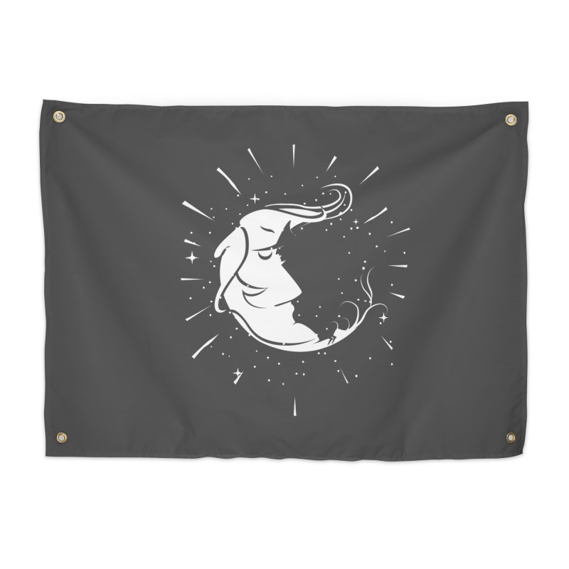 switchs the moon Home Tapestry by delcored