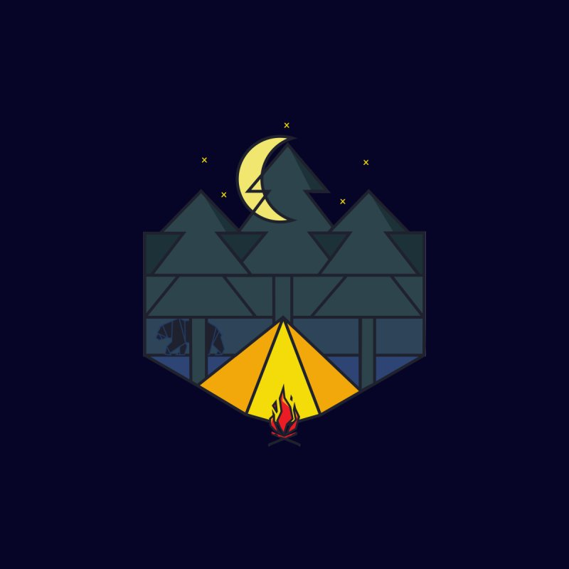 night camp by delcored