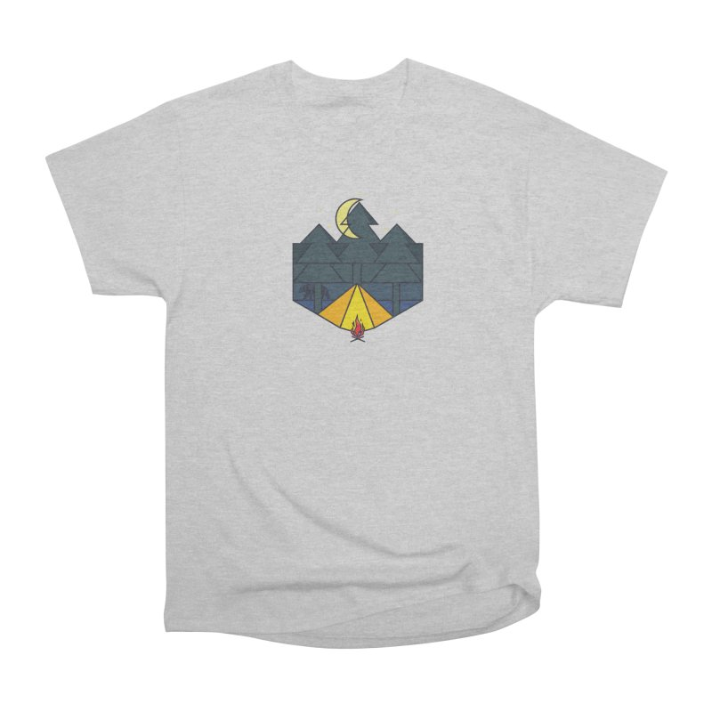 night camp Women's Classic Unisex T-Shirt by delcore's Artist Shop