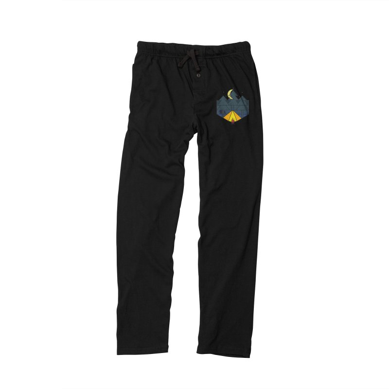 night camp Men's Lounge Pants by delcored