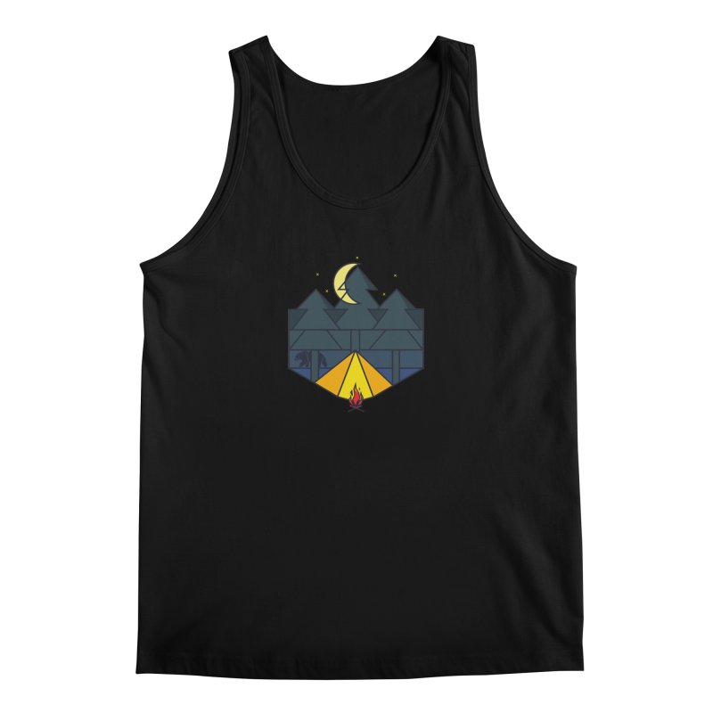 night camp Men's Tank by delcored