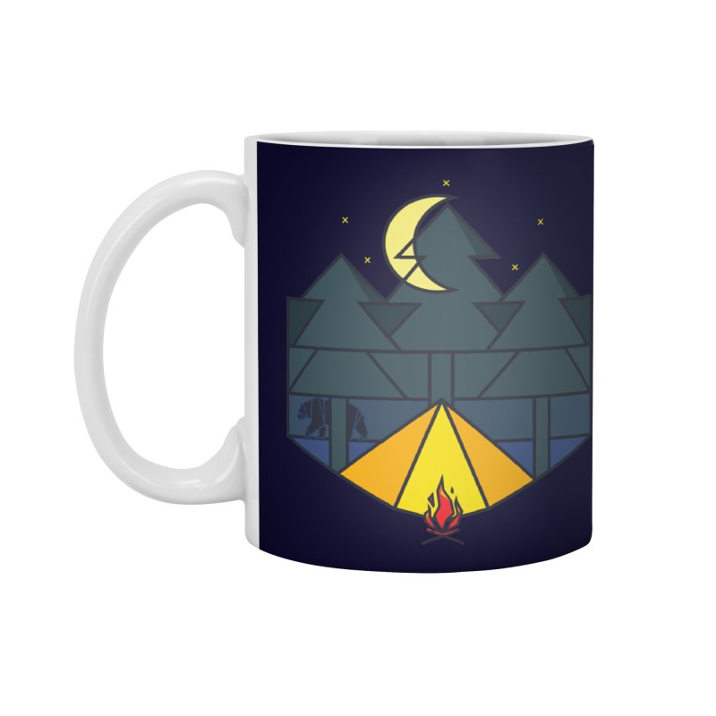 night camp Accessories Mug by delcored