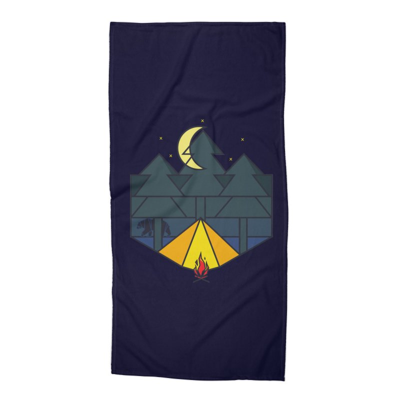 night camp Accessories Beach Towel by delcored