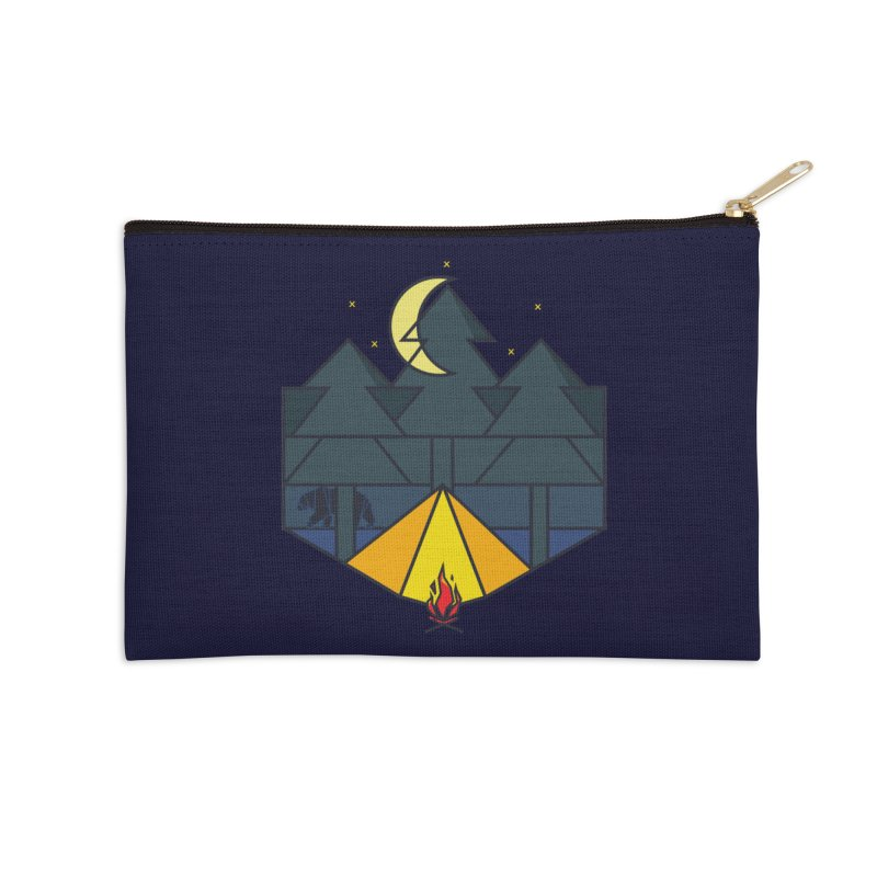 night camp Accessories Zip Pouch by delcored