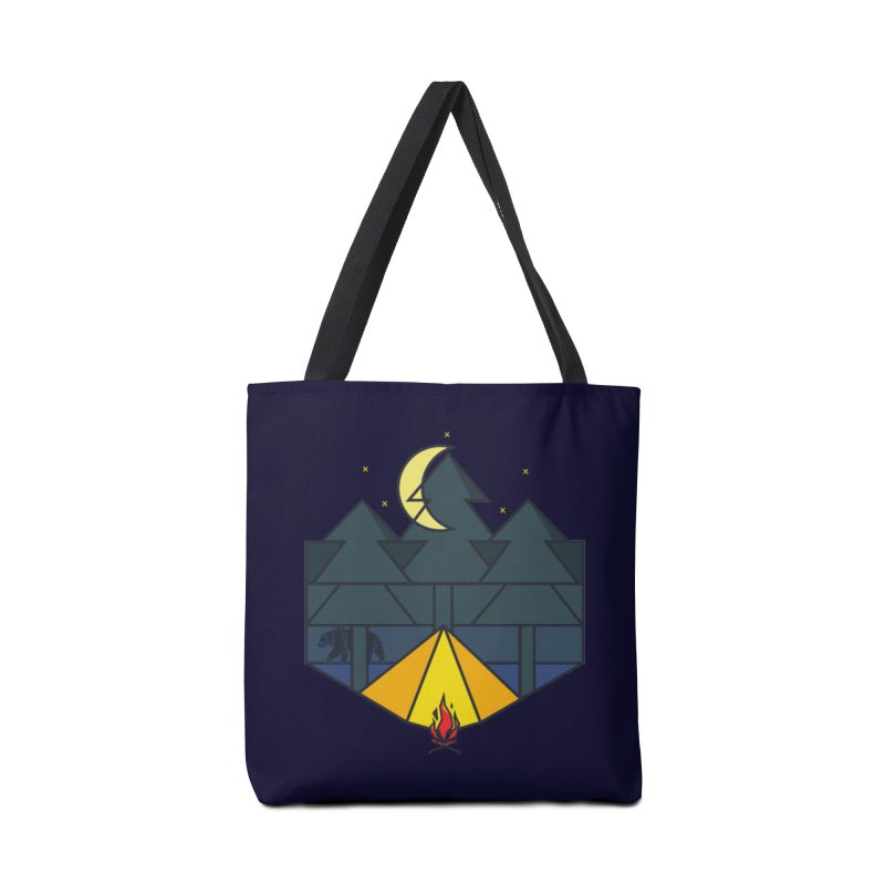 night camp in Tote Bag by delcored