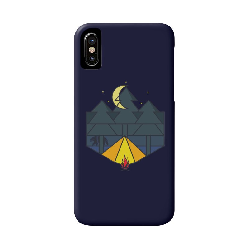 night camp Accessories Phone Case by delcored