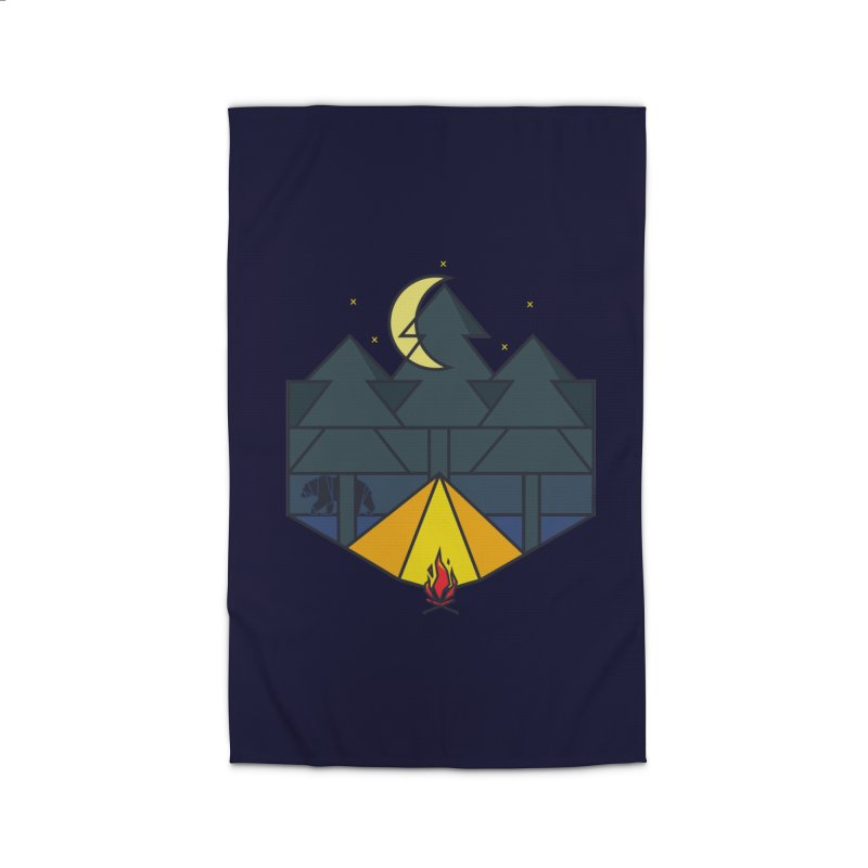 night camp Home Rug by delcored