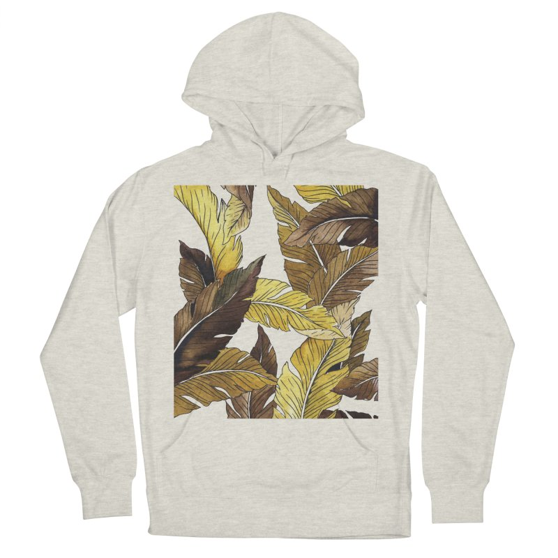 falling leaf Women's Pullover Hoody by delcored