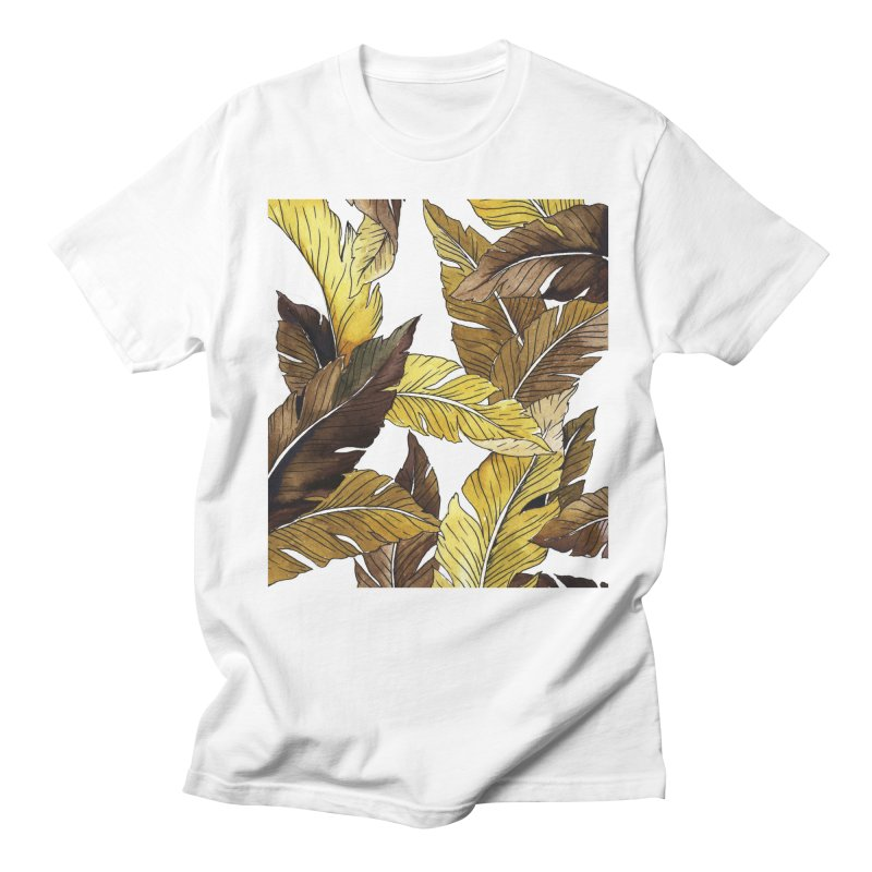 falling leaf Men's T-Shirt by delcored