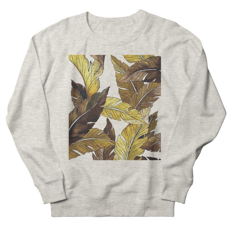 falling leaf Women's Sweatshirt by delcored