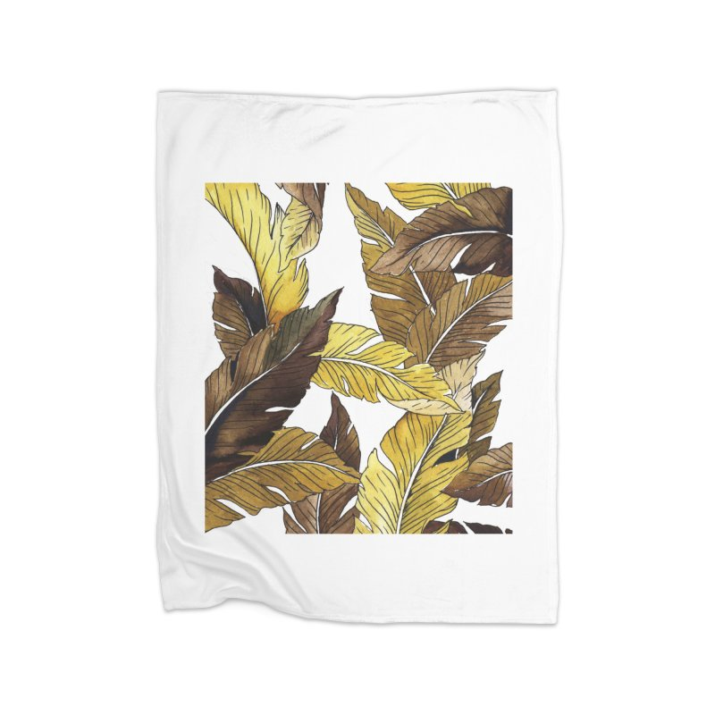 falling leaf Home Blanket by delcored