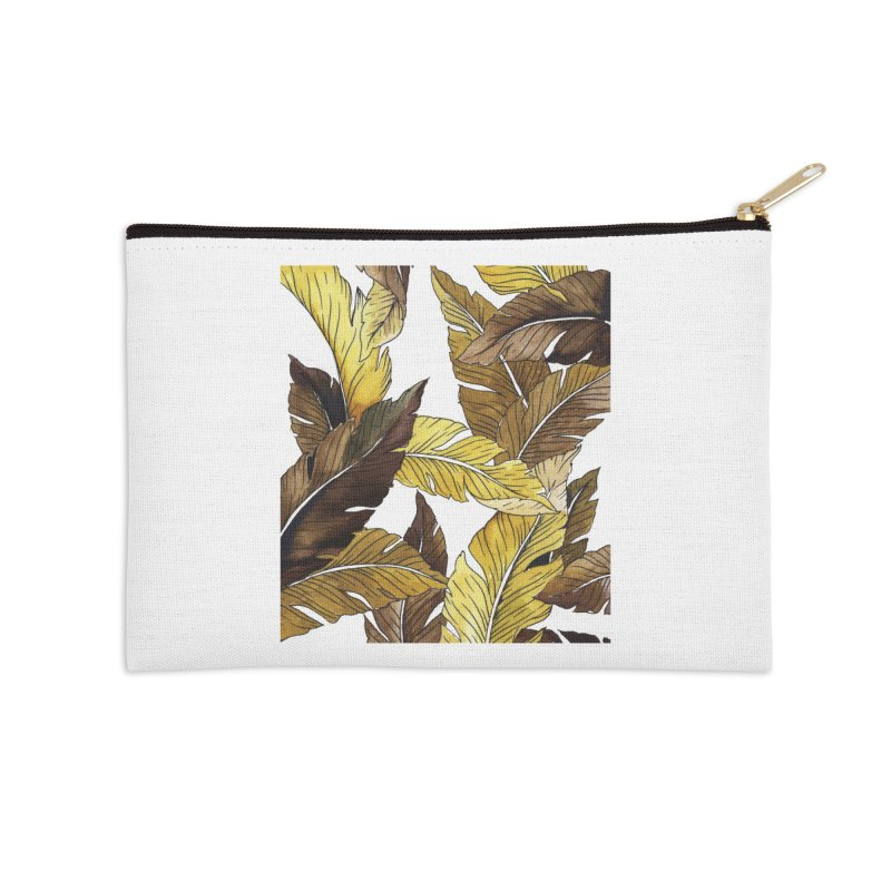 falling leaf Accessories Zip Pouch by delcored