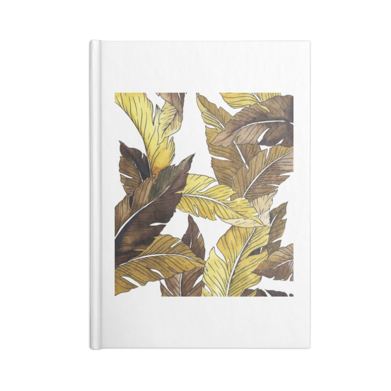 falling leaf Accessories Notebook by delcored