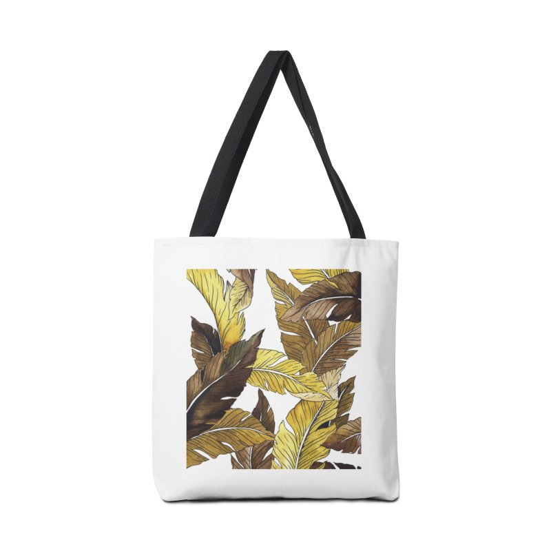 falling leaf Accessories Bag by delcored