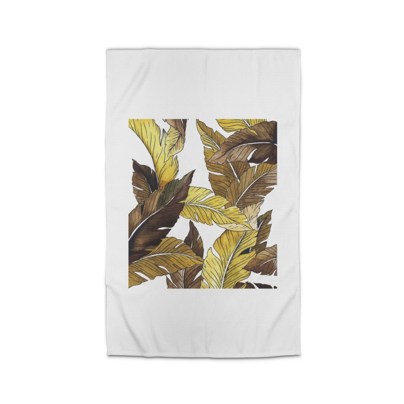 falling leaf Home Rug by delcored