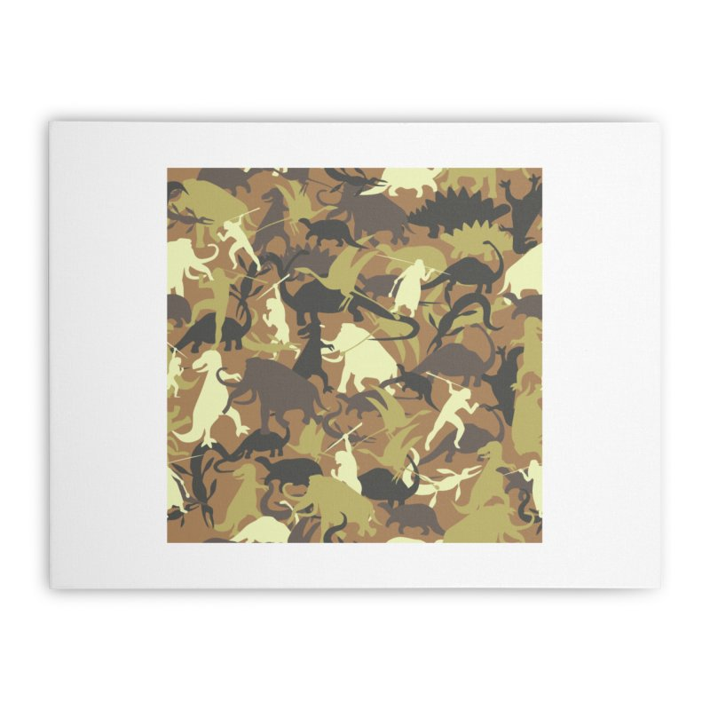 Hunting season Home Stretched Canvas by delcored