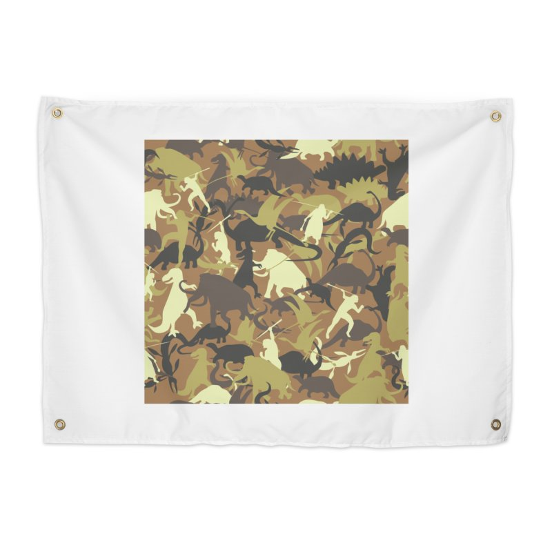 Hunting season Home Tapestry by delcored
