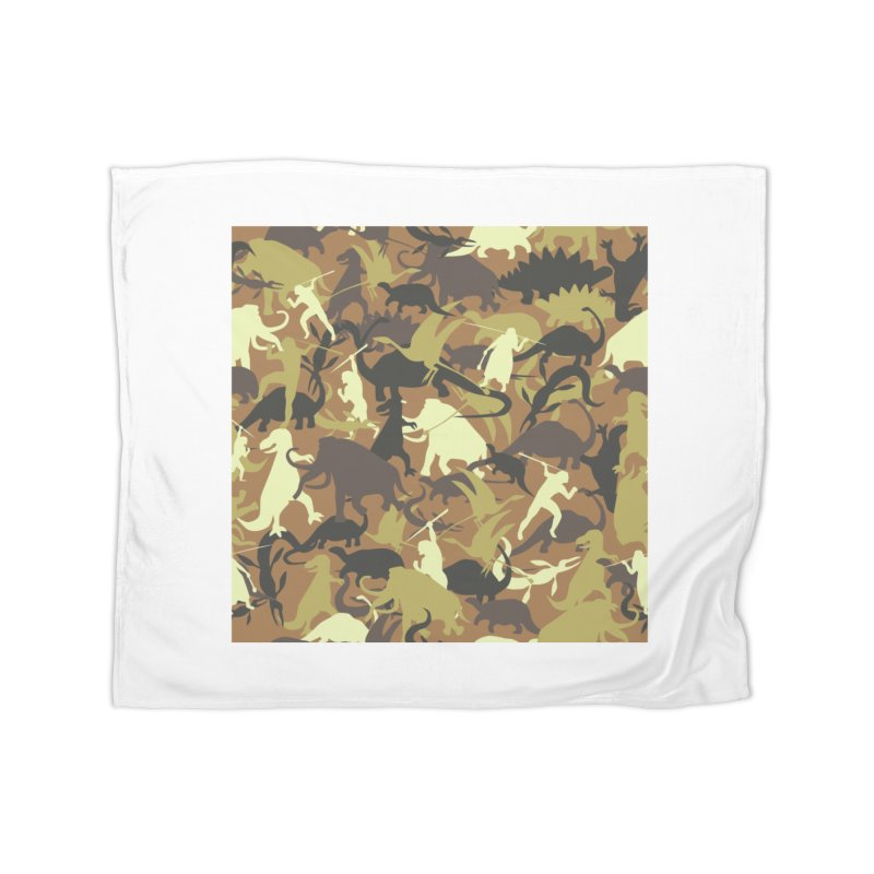 Hunting season Home Blanket by delcored