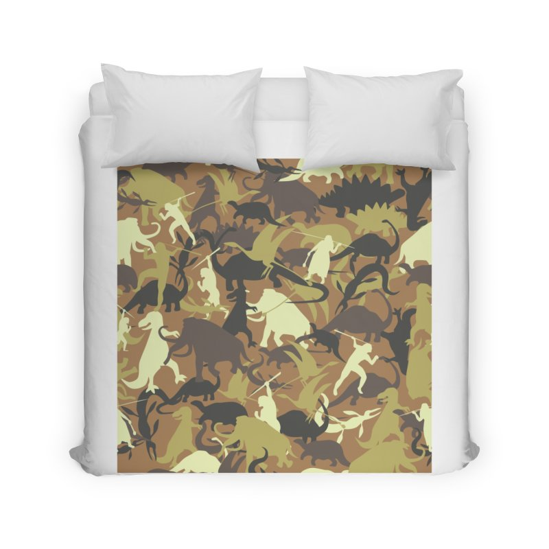 Hunting season Home Duvet by delcored