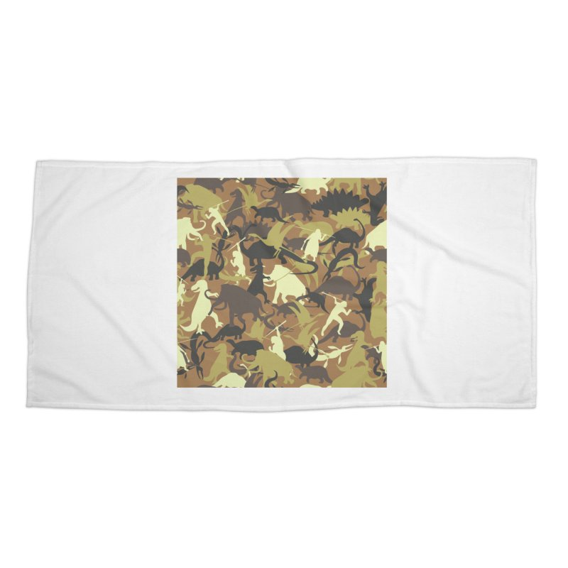 Hunting season Accessories Beach Towel by delcored