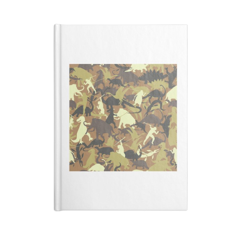 Hunting season Accessories Notebook by delcored
