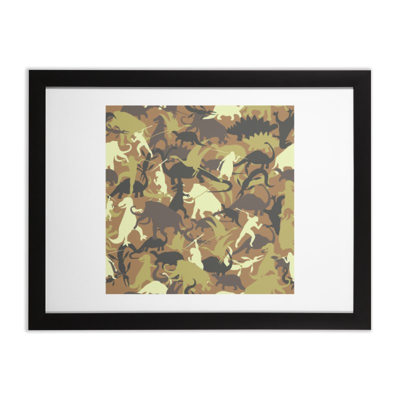 Hunting season Home Framed Fine Art Print by delcored