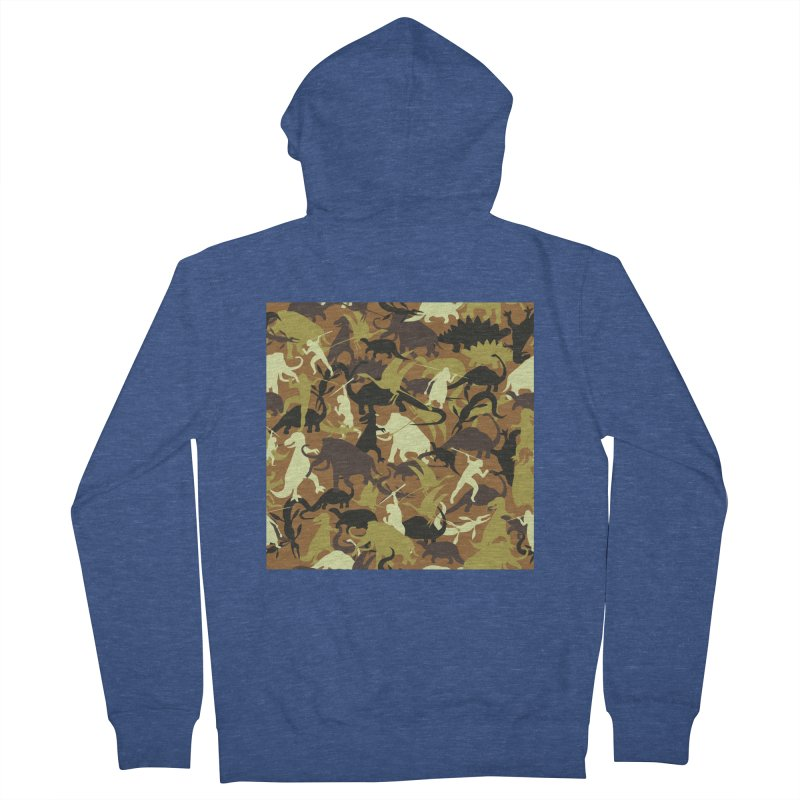Hunting season Men's Zip-Up Hoody by delcored