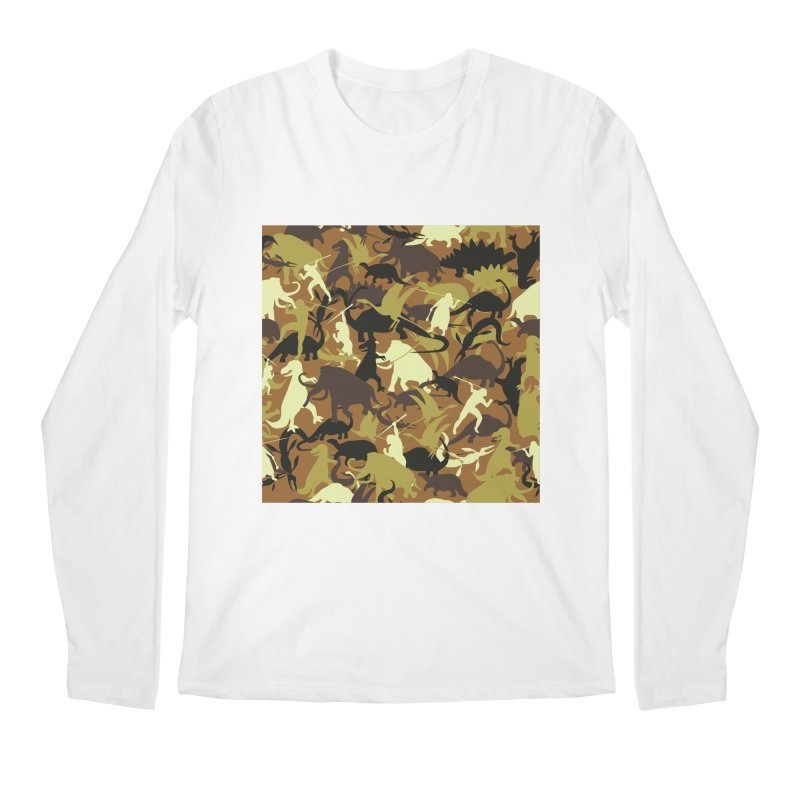 Hunting season Men's Longsleeve T-Shirt by delcored