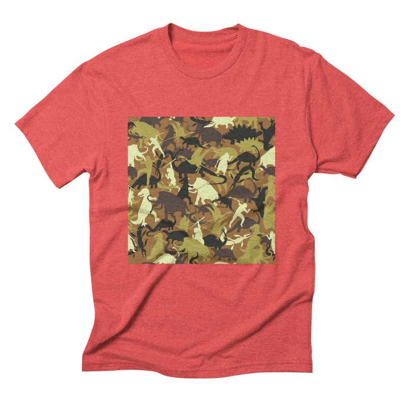 Hunting season Men's Triblend T-Shirt by delcored