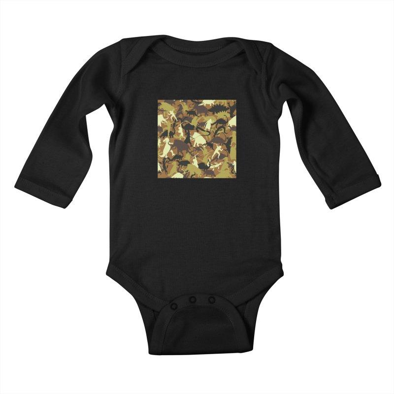 Hunting season Kids Baby Longsleeve Bodysuit by delcored