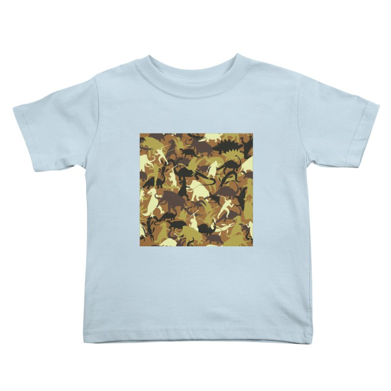 Hunting season Kids Toddler T-Shirt by delcored