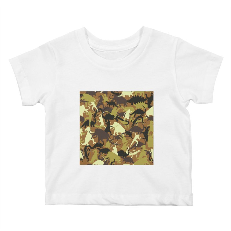 Hunting season Kids Baby T-Shirt by delcored