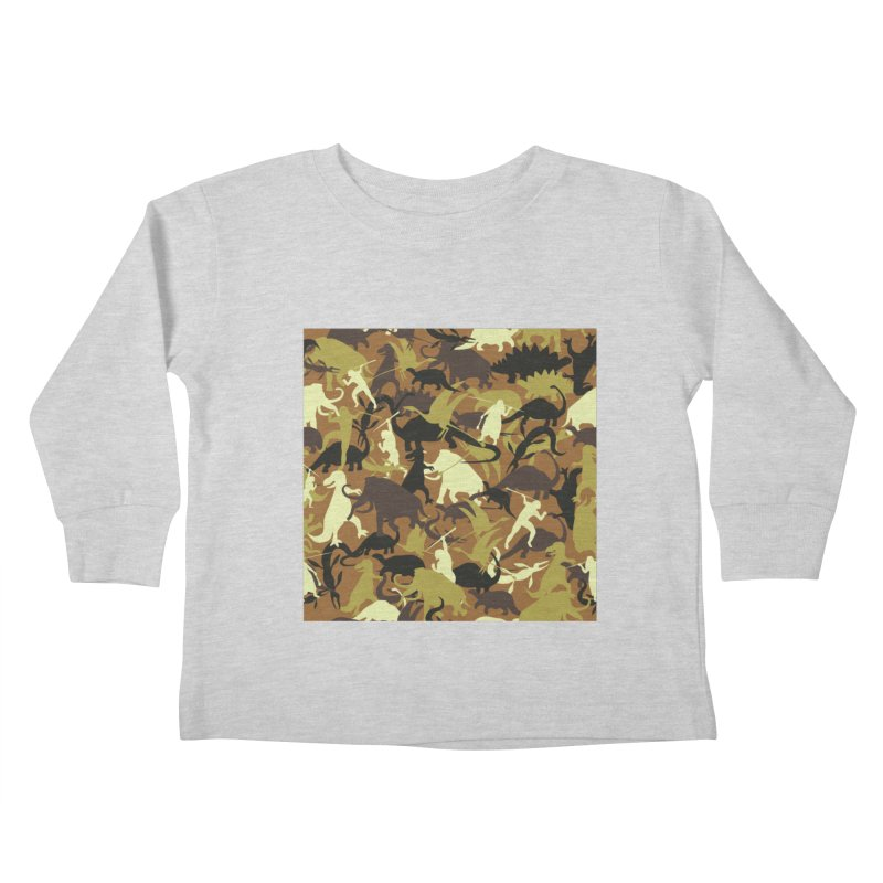 Hunting season Kids Toddler Longsleeve T-Shirt by delcored