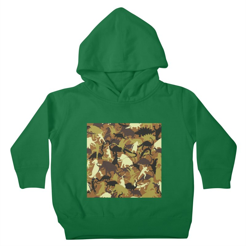 Hunting season Kids Toddler Pullover Hoody by delcored