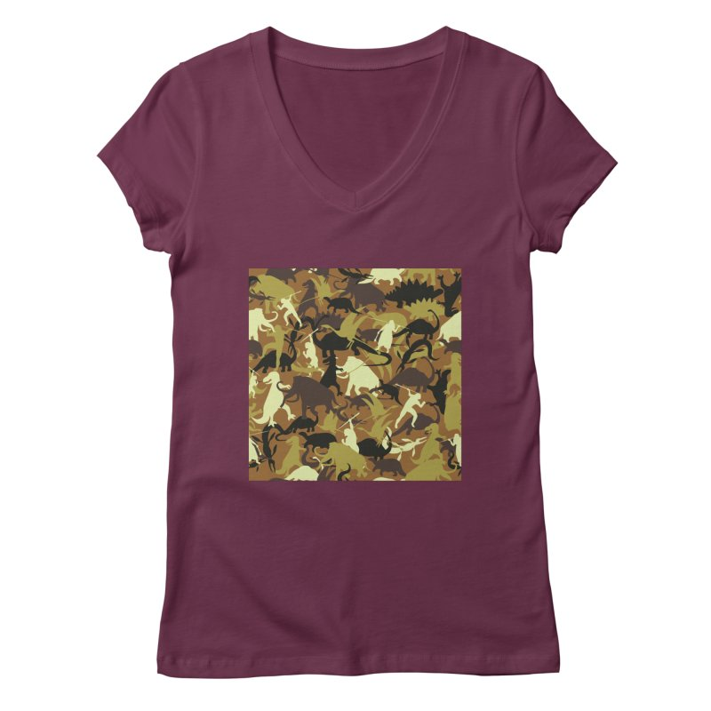 Hunting season Women's V-Neck by delcored